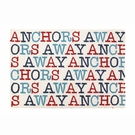 Anchors Away Hook Rug