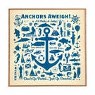 Anchors Aweigh Framed Wall Art