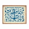 Anchors Aweigh Rectangular Tray
