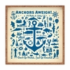 Anchors Aweigh Square Tray