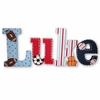 Luke Playground Hand Painted Wall Letters