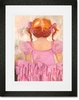 Angelic Ballerina - Red Hair Framed Art Print