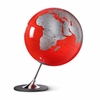 Anglo Globe in Red