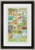 Animal Alphabet Framed Art