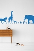 Animal Farm in Blue Kids Wall Stickers