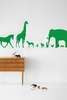 Animal Farm in Green Kids Wall Stickers