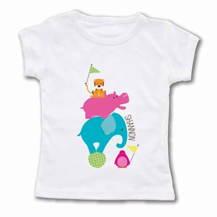 Animal Pile Personalized T-Shirt