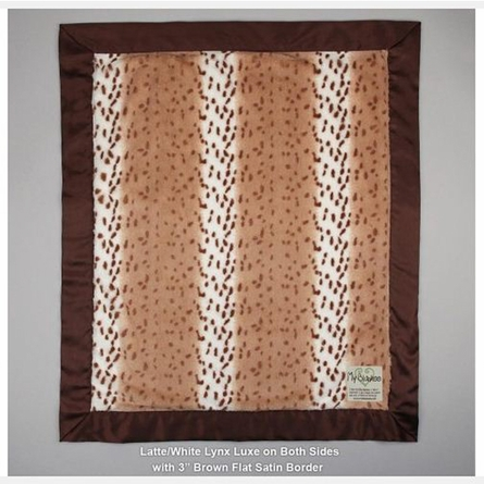 Animal Print Luxe Baby Blanket
