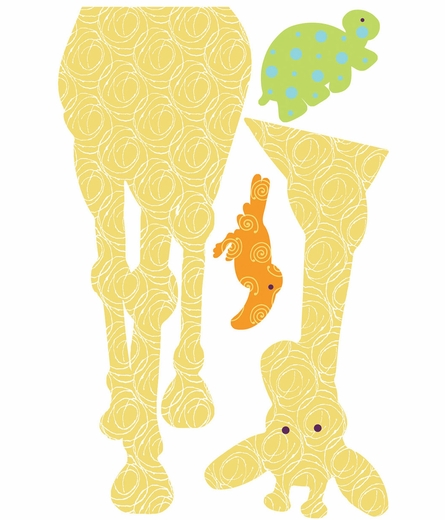 Animal Silhouettes Peel & Stick Wall Decal