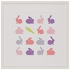 Animal Sudoku - Rabbits Framed Art