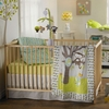Animal Tree 4-Piece Crib Bedding Set