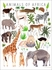 Animals of Africa Poster Wall Decal