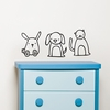 Animapals Wall Decal