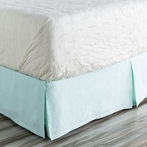Anniston Sky Blue Bed Skirt