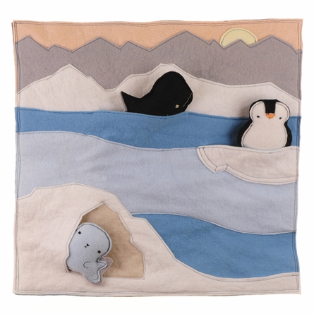 Antarctic Interactive Nature Pals Wall Hanging
