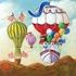 Antique Balloon Goose Canvas Wall Art