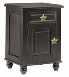 367 Stars Single Door Nightstand