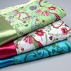 Antique Floral Velour Baby Blanket