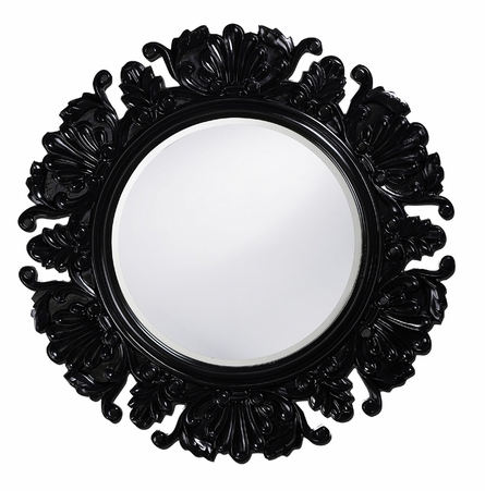 Antique Leaf Mirror