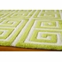 Apple Green Greek Key Bliss Rug