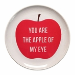 Apple Of My Eye Melamine Plate - Set of 4