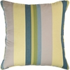 April Stripe Square Pillow
