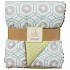 On Sale Aqua Chain Quilted Crib Comforter