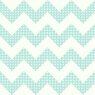 Aqua Dots Chevron Wallpaper