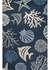 Aquarium Rug in Dark Blue