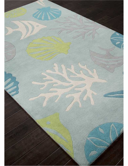 Aquarium Rug in Sea Blue