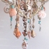 Ariel Four Arm Sea Shell Chandelier