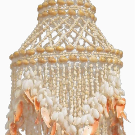 Ariel One Light Sea Shell Chandelier