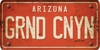 Arizona Custom License Plate Art