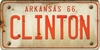 Arkansas Custom License Plate Art