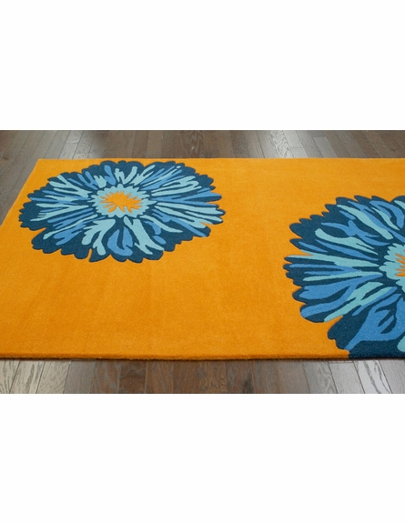 Aroma Rug in Orange