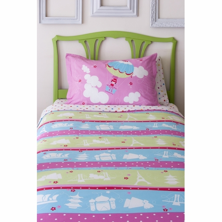 Around the World Bedding Set