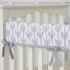 Arrows Crib Rail Cover