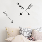 Arrows Wall Stickers - Black