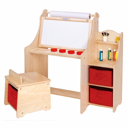 Artist Activity Desk with Storage