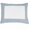 Ash Windowpane Pillow Sham