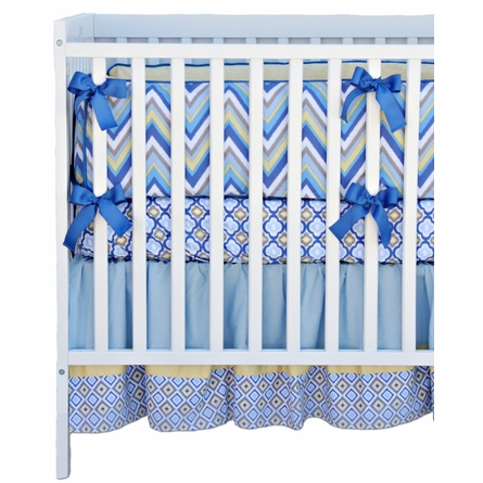 Asher 3-Piece Crib Bedding Set