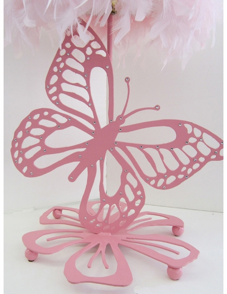Ashley Butterfly Lamp with Shade