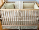 Asparagus Elliot Crib Bedding - 3 Piece Set