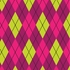 Astonishing Argyle Removable Wallpaper in Ice Cream Pop
