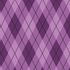 Astonishing Argyle Removable Wallpaper in Pure Purple
