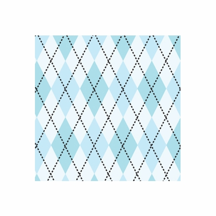 Astonishing Argyle Removable Wallpaper in Sky Blue