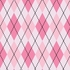 Astonishing Argyle Removable Wallpaper in Soft Pink