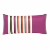 Astrakhan Magenta Throw Pillow