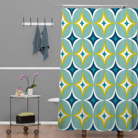 Astral Slingshot Shower Curtain