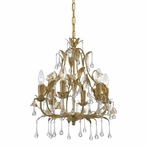 Athena 6 Light Mini Chandelier II